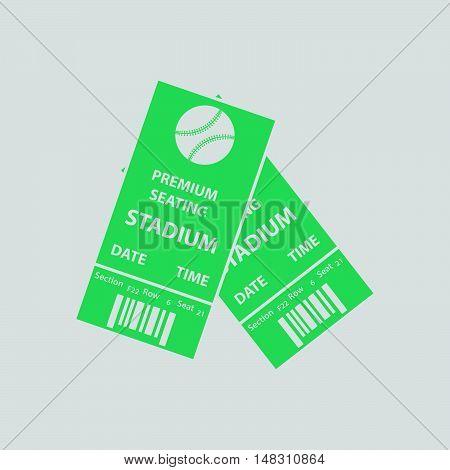 Baseball Tickets Icon