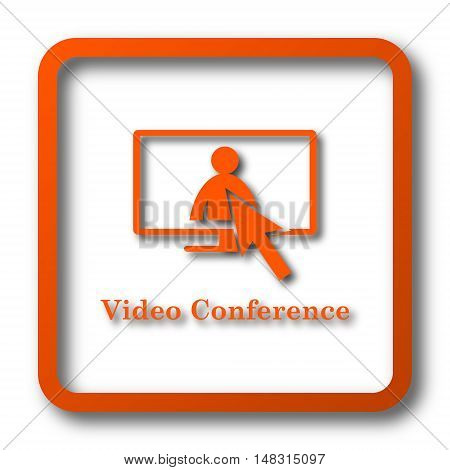 Video Conference, Online Meeting Icon