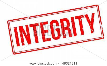 Integrity Rubber Stamp
