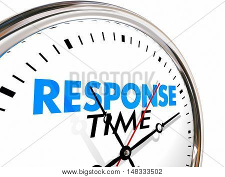 Response Time Clock Fast Speed