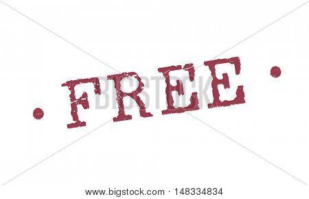 Free Bonus Gift Offer Sample Trial Graphic Concept