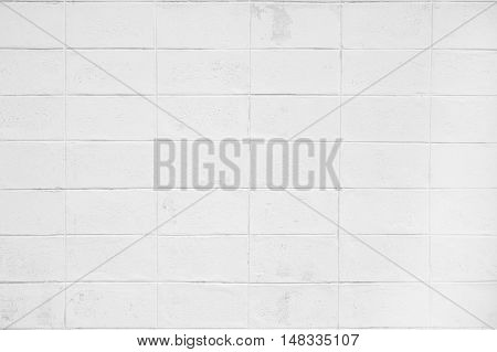 Texture and Seamless background of concrete block wall.