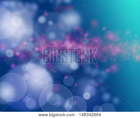Blue purple and pink abstract background blur