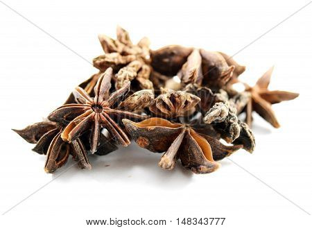 Organic star anise (Illicium verum) - isolated