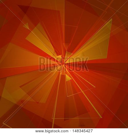 collapsing abstract glass background vector illustration clip-art