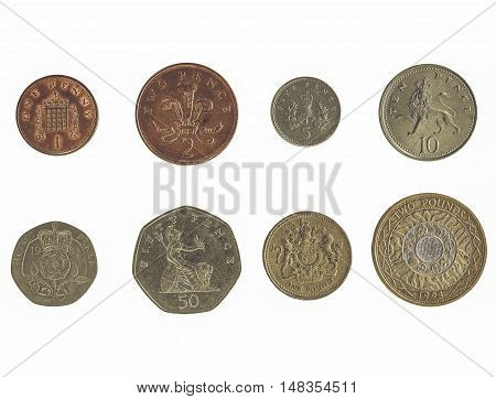 Vintage Pound Coin Series