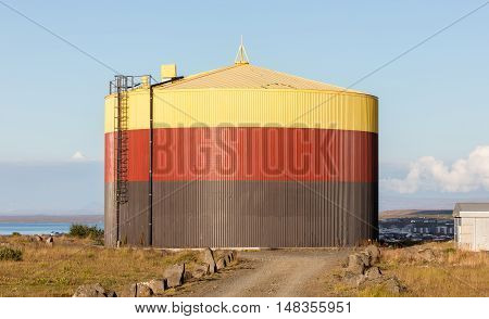 Colorful Storage Tank