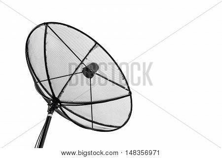 satellite dish, isolated on white background