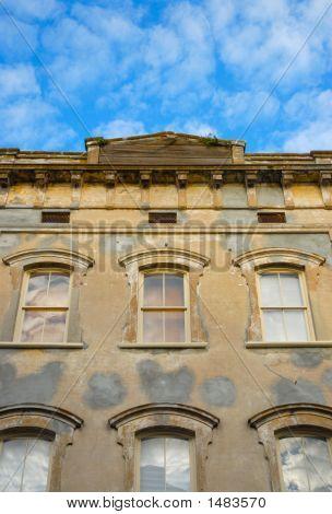 Facade Of Old Building 2
