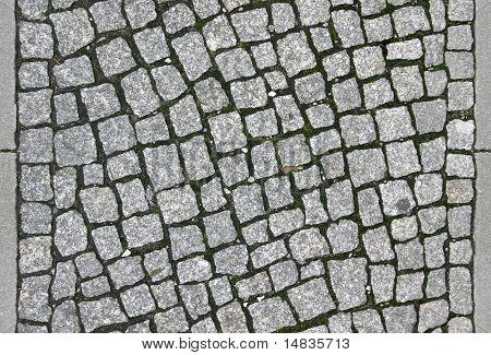 Cobblestone Sidewalk - Tileable Texture