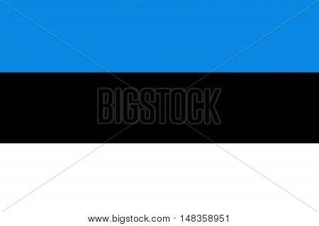 Estonia flag ,original and simple Estonia flag
