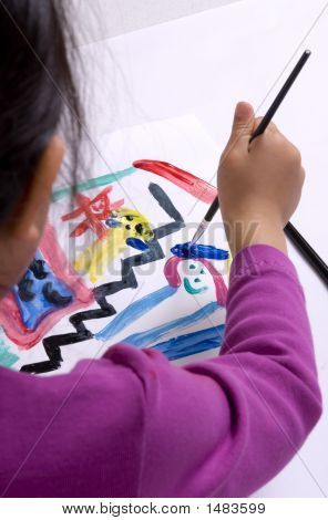 Childhood Painting 004