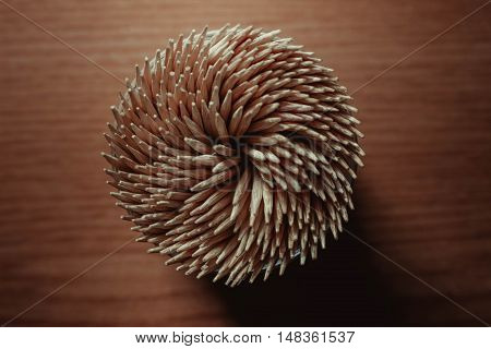wooden toothpicks background wood teeth abstraction figure
