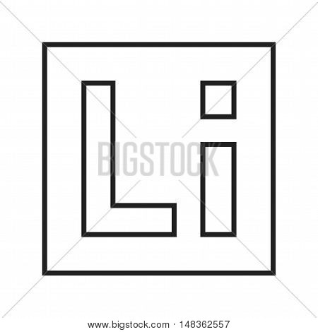 Internet, google, browser icon vector image. Can also be used for social media logos. Suitable for mobile apps, web apps and print media.
