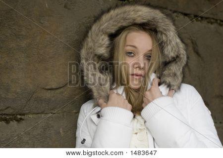 Fur Coat Model