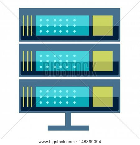 Internet data center server