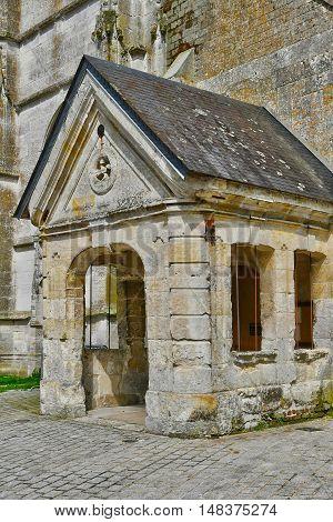 Sainte Marguerite sur Duclair France - june 22 2016 : the church