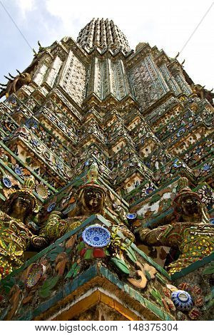 Asia  Thailand    Bangkok Sunny  Statue