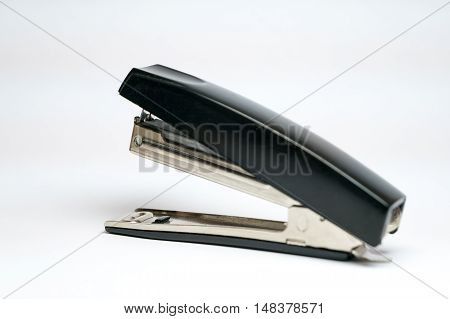 Office Chancellery. Stapler on a white background