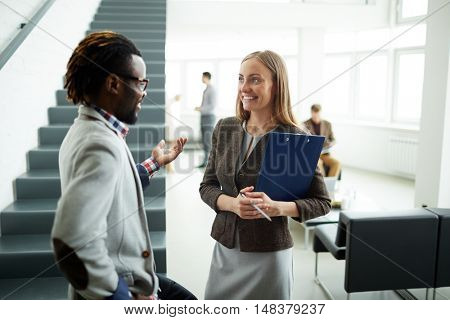 Discussion of creative ideas