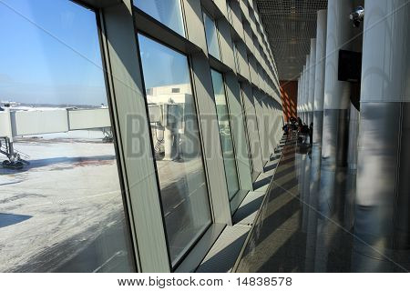 Interior Of International Airport