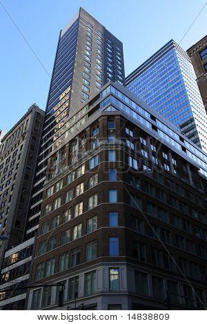 Tower Buildings In Manhattan