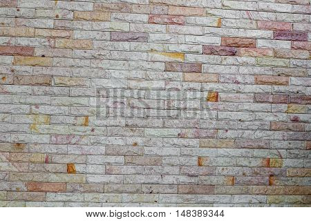 brick wall texture sandstone beautiful background .