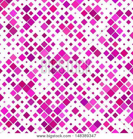 Magenta square pattern background design - vector illustration