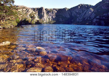 Crater Lake, Cradle Mountain National Park, Tasmania, Australia