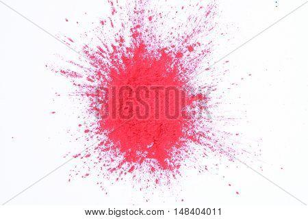 Magenta Toner Powder