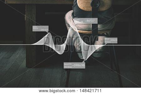 Abstract Graph Diagram Algebra Curve Concept