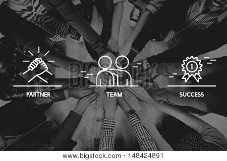 Team Partner Success People Graphic Concept