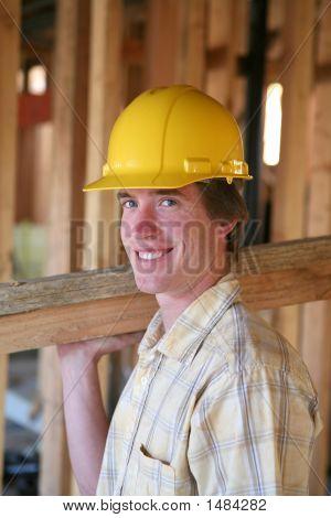 Homem de construção