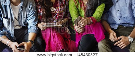 Indian Ethnicity Friendship Society Togetherness Concept