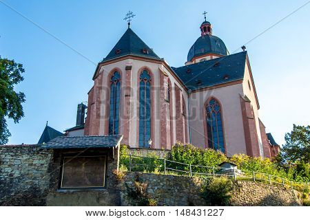 The Collegiate Church of St. Stephan in Mainz Germany