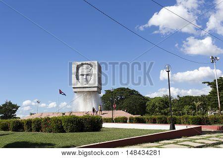 Jose Marti Fountain Monument In Santiago De Cuba, Cuba