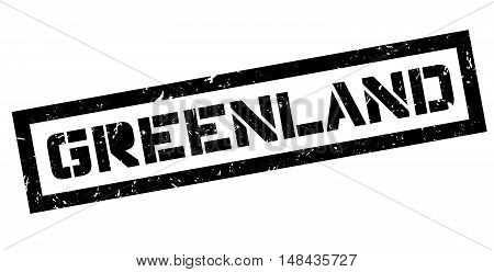 Greenland Rubber Stamp