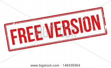 Free Version Rubber Stamp