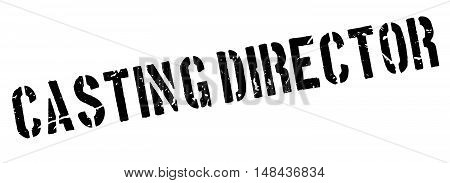 Casting Director Rubber Stamp