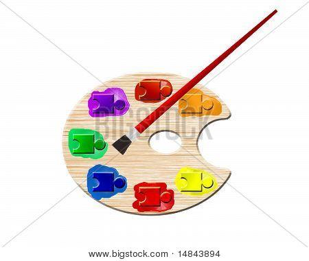 Autistic Artist's Palette