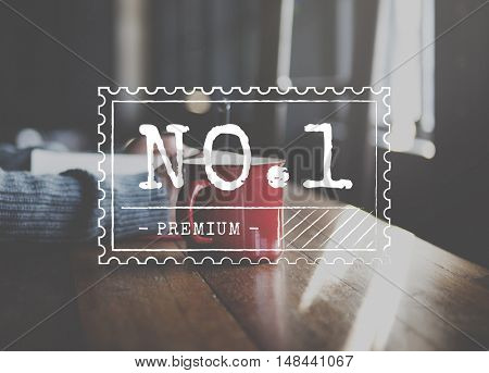 No.1 Product Certificate Sign Concept