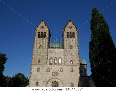 the  small City of Paderborn in germany