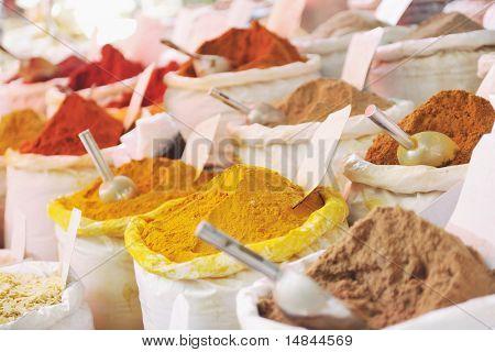 oriental spice market store at turkey