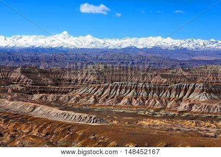 Himalayas Mountain View, Tibet