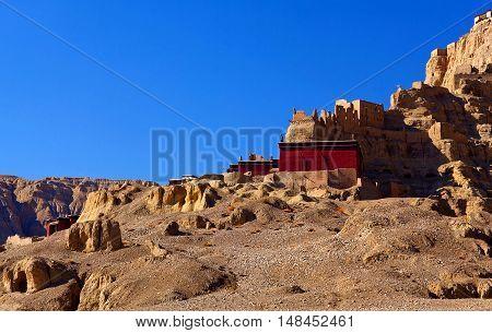 Tholling Monastery In Guge Kingdom, Tibet