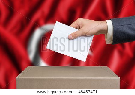 Election In Turkey - Voting At The Ballot Box
