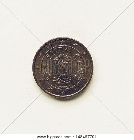 Vintage Austrian 1 Cent Coin