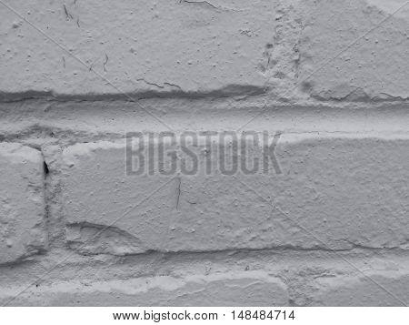 close up on white brick pattern texture