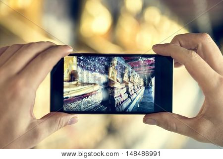 Trave Trip  Vacation Camera Photo Memory Couple Concept