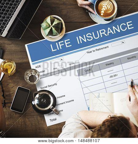 Retirement Plan Investment Elderly Seniority Concept